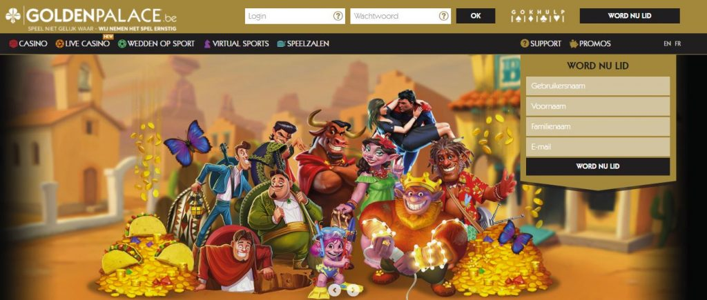 golden palace online casino homepage