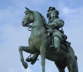 Historische figuren Louis XIV