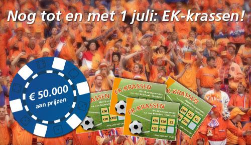 Krasactie Oranje Casino tot en met 1 juli