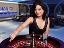 Roulette in het live casino van Kroon Casino