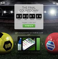 the final countdown bij unibet