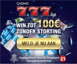 Verrassingsbonus bij Casino777