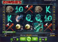 Nieuwe videoslot Zombies bij Kroon Casino